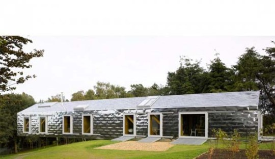 Suspended Holiday Home Balancing Barn From Mvrdv