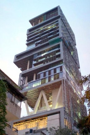 Most Expensive House In the World: Antilia, Mumbai
