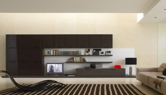 black-and-beige-room