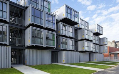 Student Dormitory Built Using Shipping Containers