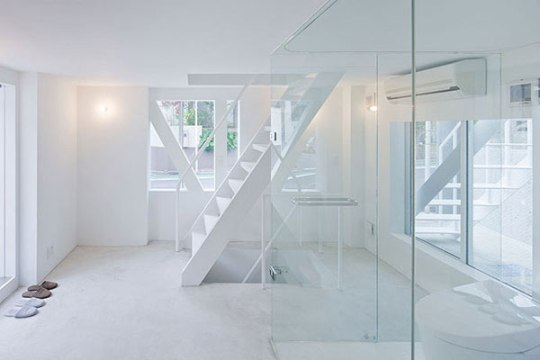 Stacked Houses Design By Sou Fujimoto In Tokyo