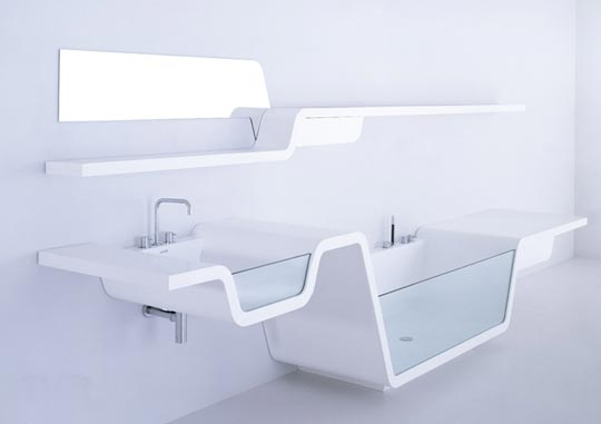 Ebb Bathroom Collection