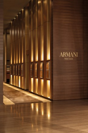 Interiors Of The Armani Hotel Dubai In World's Highest Tower Burj Khalifa