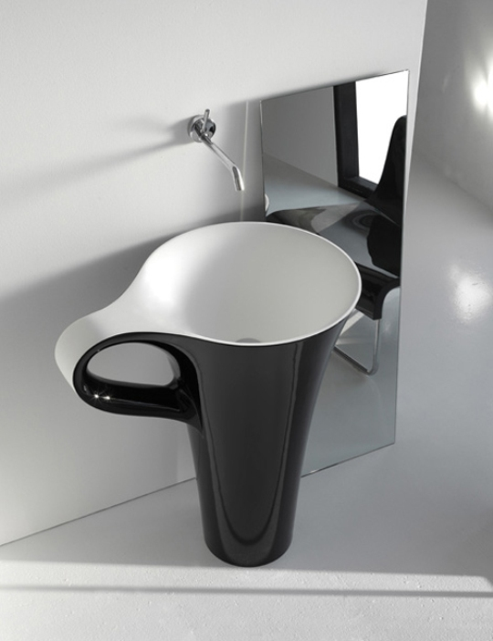 The Art Basin Cup - Washbasin Inspired By Coffee Cup