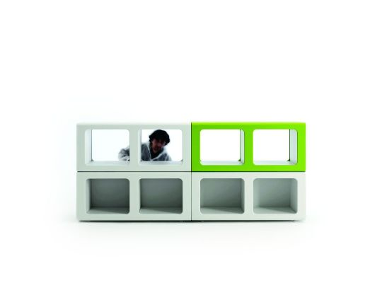 Red dot award winning workspace design by tecnospa