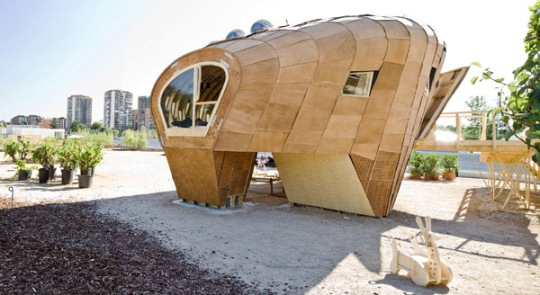 Unique And Unusual Energy Producing House Fab Lab By Iaac
