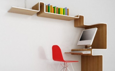 K Workstation A Space Saving Home Office Design By MisoSoup