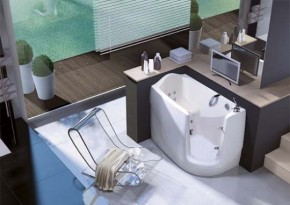 Modern Bathtub Gen-X By Gruppo Tre Esse