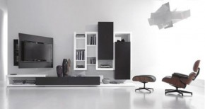 Multi-functional Wall Mounted TV Stand By Fimar
