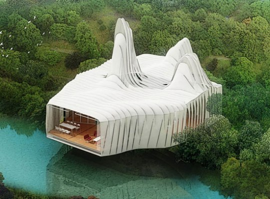 zero energy house bird island