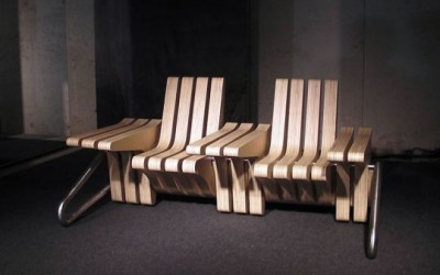 Coffee Bench With Adjustable Space By Beyond Standards