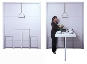 The Oma's Rache – Flat Pack Compact Kitchen