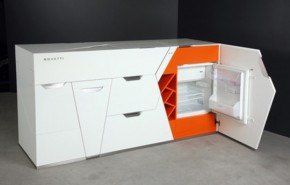 Ultra Modern Compact Kitchen By Boxetti