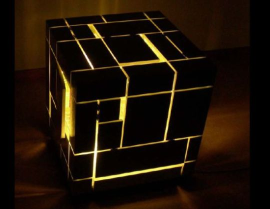 Cubic Lighting Unit A Multi Tasking Coffee Table For