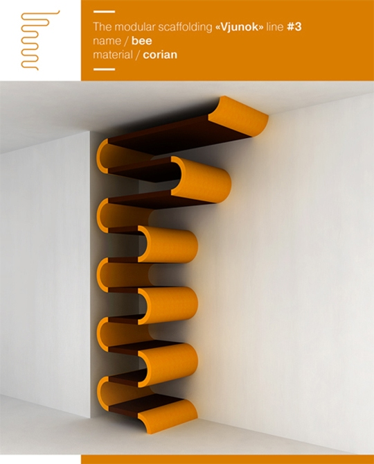 Unique And Innovative Wall Shelf Designs From Maria Yasko