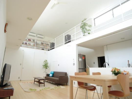 The japanese with house from loop studio for Japanese minimalist interior design