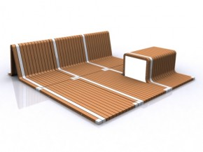 """A """"Magic Rug"""" Which Can Transform Itself Into Useful Furniture Units"""