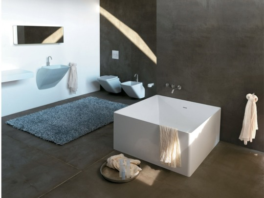 minimalistic and cozy modern bathroom designs from colacril - Ultra Modern Bathroom Designs