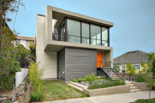 Modern small home design with a low budget by pb elemental Modern house website