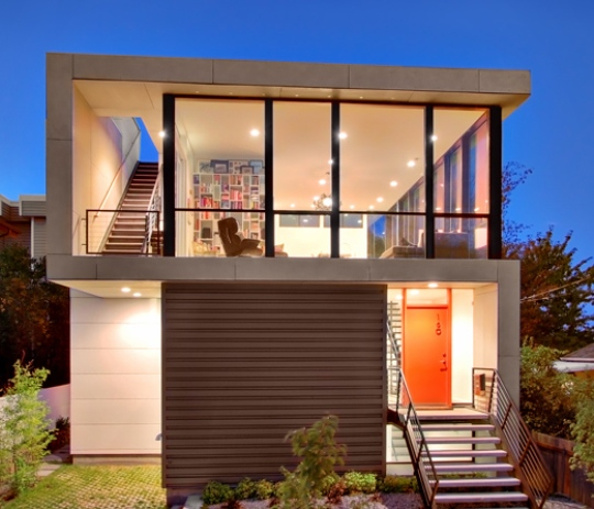 Modern small home design with a low budget by pb elemental for Low budget modern house designs