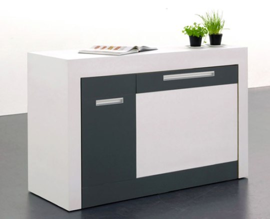 Small Type' Kitchen For Compact Living By German Designers. | The