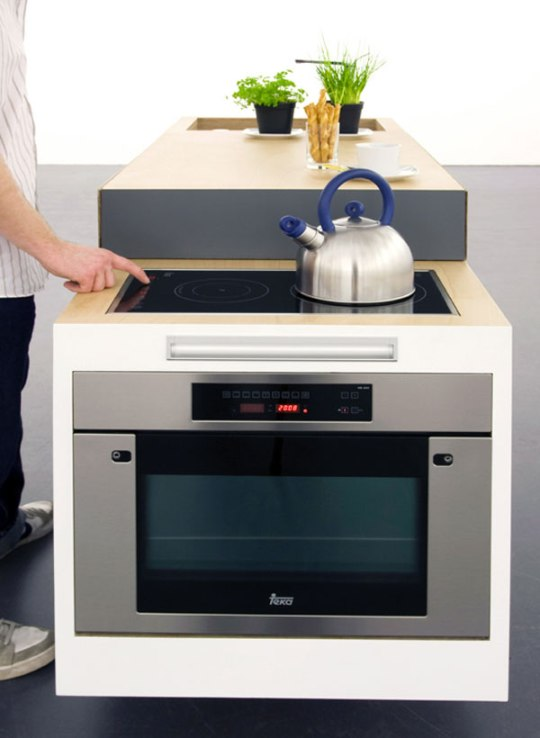 'Small Type' Kitchen For Compact Living By German Designers.