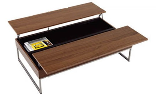 Modern coffee table with storage by bo concept Contemporary coffee tables with storage