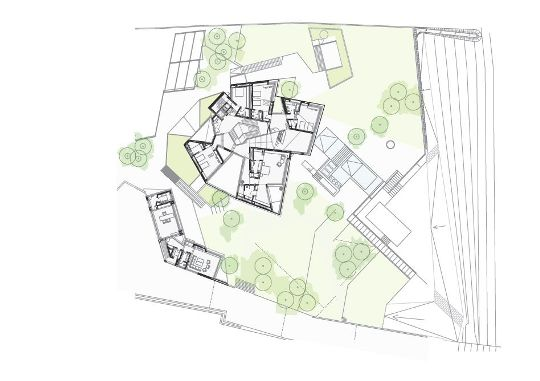 The Client, Instead, Opted For A Single House, Two Bungalows And A  Boathouse, With Possible Plans For Expansion In The Future.