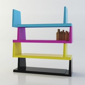 Steckbar Modern Colorful Book Shelf
