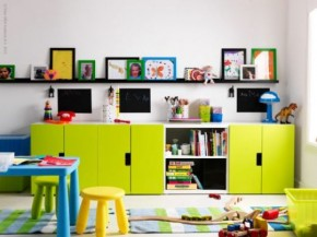 Kid's Room Storage Unit - STUVA From IKEA
