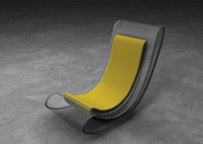 Modern Rocking Chair Yoyo Chair By Tamara Svonja
