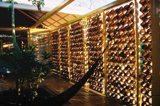 bamboo house interior by benjamin garcia saxe