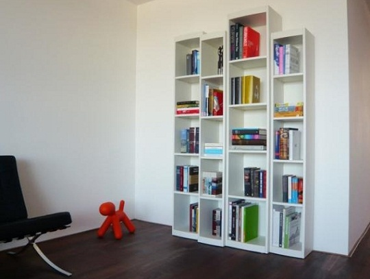Boox bookcase by Ronald Knol