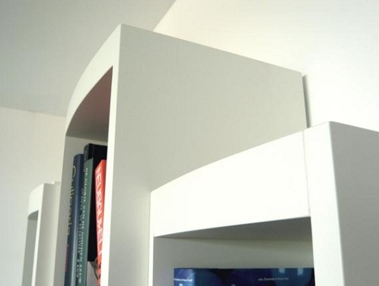 Boox bookcase by RKNL