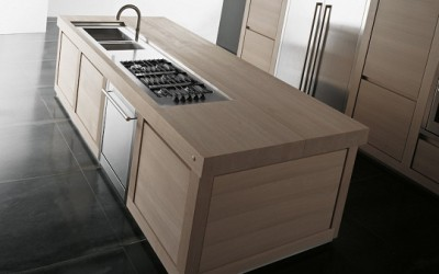 Versatile Kitchen Made Of Solid Wood By Effeti