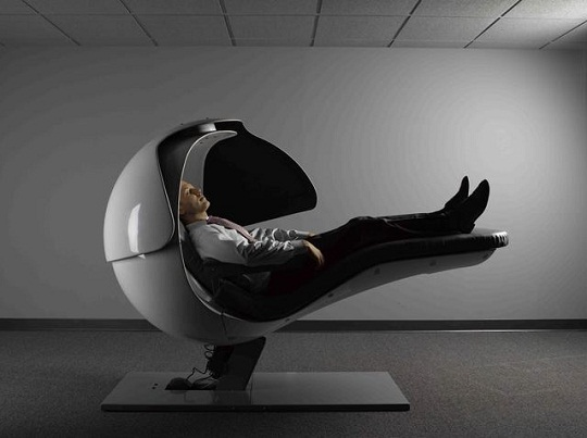 Energypod by metronaps get a quick power nap at office for Napping pods google