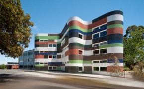 Colorful Fitzroy High School Design In Melbourne, Australia By McBride Charles Ryan