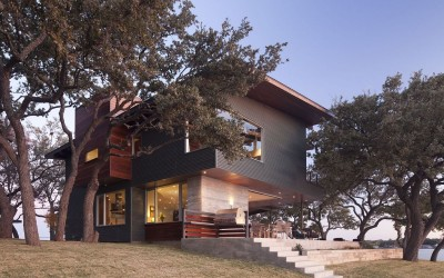 Lake LBJ Retreat By Dick Clark Architecture