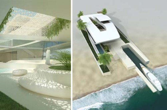 Luxury Beach House In Qatar Designed By Project A01 Architects