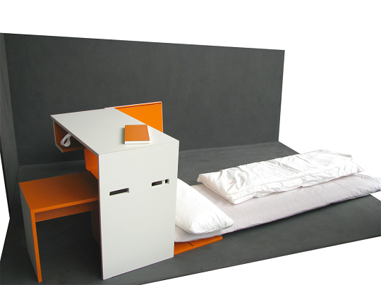 compact room in a box furniture set by isis design. Black Bedroom Furniture Sets. Home Design Ideas