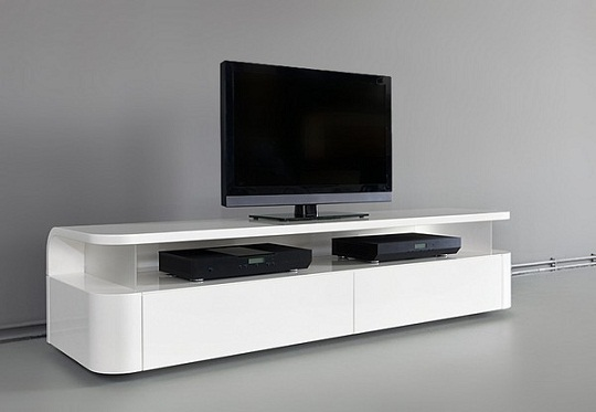 Sleek And Functional TV-Audio Unit By Ronald Knol