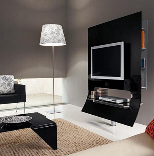 Sleek Modern Tv Stand By Doimoidea Virgola