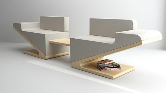 Modern Flexible Sofa V Two By Juil Kim