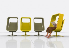 Versatile Windowseat Lounge Chair By Mike And Maaike