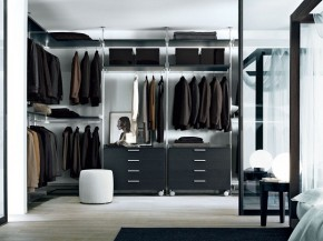 Modern Walk-In Closet Zenit From Rimadesio