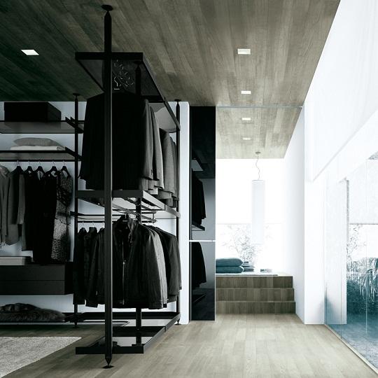 Modern Walk In Closet Zenit From Rimadesio