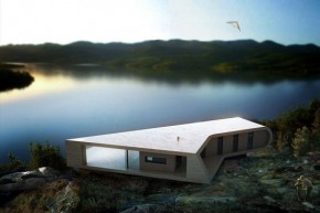 Alendal Summerhouse In Norway By Saunders Architecture