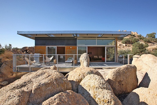 Prefabricated Blue Sky Home By O2 Architecture