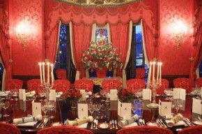 Magnificent Christmas Decoration At Hotel Ritz, London