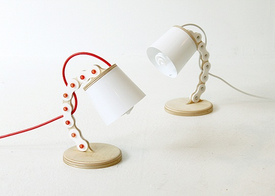B-chain lamp by Cho Hyung Suk Design